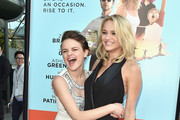 Actors Hunter King and Joey King attend the premiere of Focus Features' 'Wish I Was Here' at DGA Theater on June 23, 2014 in Los Angeles, California.