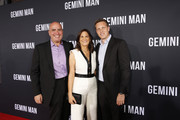 Producers Don Granger, Dana Goldberg and David Ellison attend the Premiere of Gemini Man at the TCL Chinese Theater in Hollywood, CA on October 6, 2019.