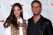 """Actress Analeigh Tipton (L) and actor Jake McDorman attend the pemiere of Gravitas Ventures' """"Broken Star"""" at TCL Chinese 6 Theatres on July 18, 2018 in Hollywood, California."""
