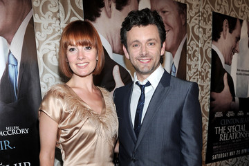 """Michael Sheen Lorraine Stewart Premiere Of HBO Films """"The Special Relationship"""" - Arrivals"""