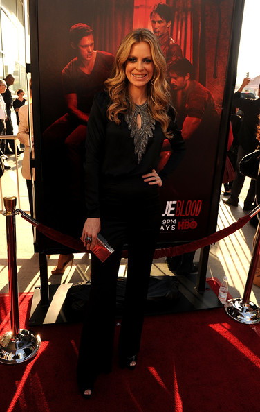 "Actress Kristin Bauer arrives at premiere of HBO's ""True Blood"" Season 4 at ArcLight Cinemas Cinerama Dome on June 21, 2011 in Los Angeles, California."