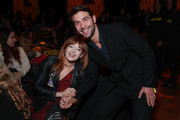 """Frances Fisher (L) and James Wolk attend the after party for the premiere of HBO's """"Watchmen"""" on October 14, 2019 in Los Angeles, California."""