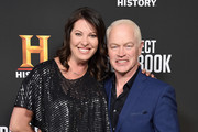 """Neal McDonough and wife Ruve McDonough attend the premiere for History Channel's """"Project Blue Book"""" at Simon House on January 3, 2019 in Beverly Hills, California."""