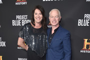 """Ruve McDonough and Neal McDonough attend the premiere of History Channel's """"Project Blue Book"""" at Simon House on January 03, 2019 in Beverly Hills, California."""