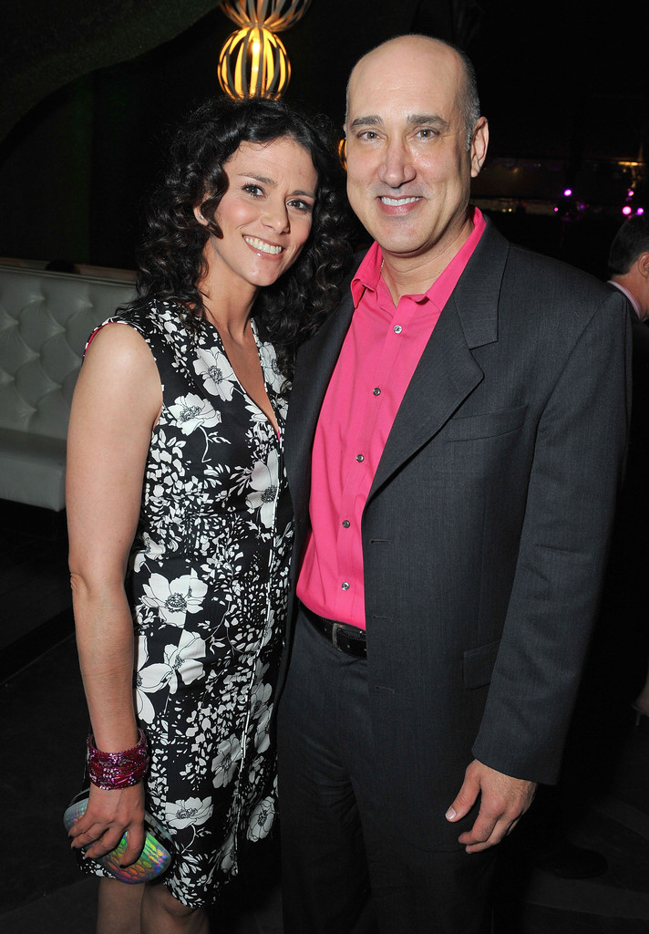 Melissa Ponzio and husband