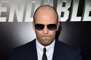 Actor Jason Statham attends the premiere of Lionsgate Films' 'The Expendables 3' at TCL Chinese Theatre on August 11, 2014 in Hollywood, California.
