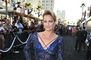 Actress Zoe Bell attends the premiere of Lionsgate Films' 'The Expendables 3' at TCL Chinese Theatre on August 11, 2014 in Hollywood, California.