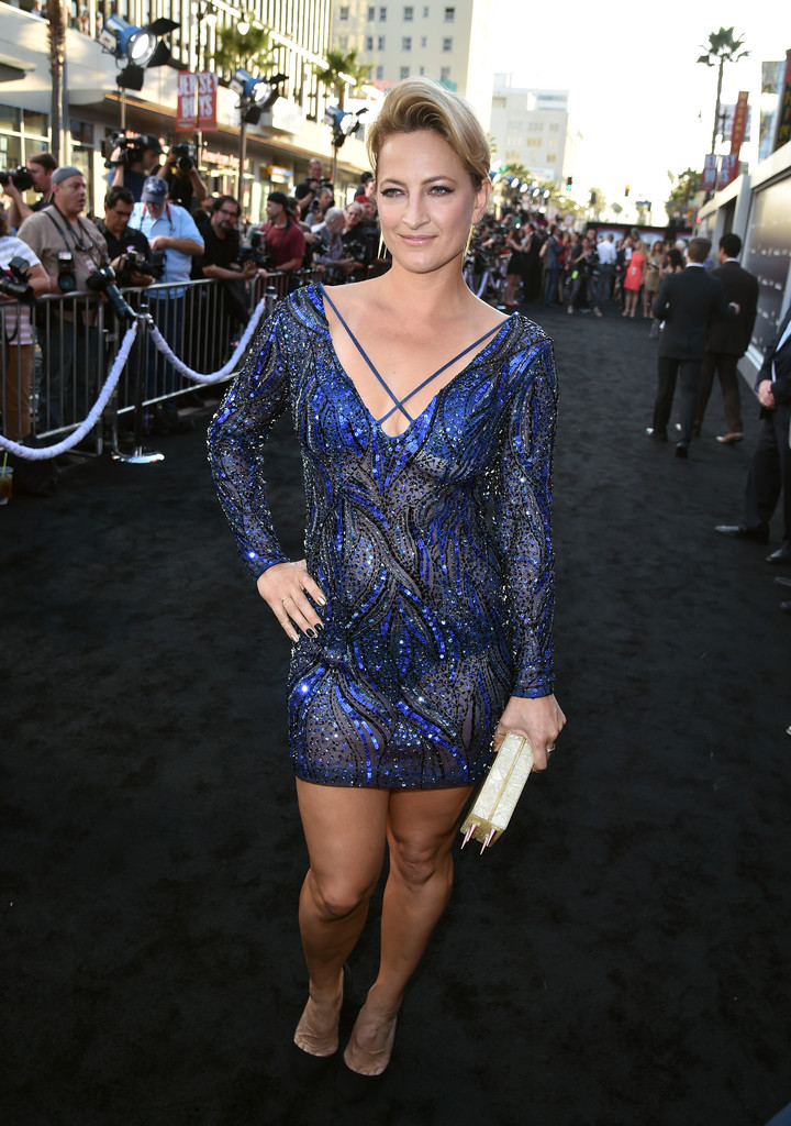 Zoe Bell in 'The Expendables 3' Premieres in Hollywood ...
