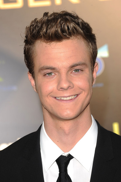 Actor Jack Quaid arrives at 'The Hunger Games' Los Angeles premiere held at Nokia Theatre L.A. Live on March 12, 2012 in Los Angeles, United States.