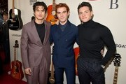 """(L-R) Charles Melton, K.J. Apa and Casey Cott attend the premiere of Lionsgate's """"I Still Believe"""" at ArcLight Hollywood on March 07, 2020 in Hollywood, California."""