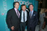"""(L-R) Producer David Hoberman, Owen Wilson and Lionsgate CEO Jon Feltheimer attend the premiere of Lionsgate's """"Wonder"""" at Regency Village Theatre on November 14, 2017 in Westwood, California."""