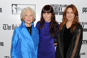 """Actress Ellen Burstyn, actress Bryce Dallas Howard and Director Jodie Markell attend the premiere of """"The Loss of a Teardrop Diamond"""" hosted by Gotham Magazine and Paladin at City Cinemas 123 on December 10, 2009 in New York City."""
