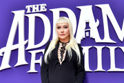 Christina Aguilera attends the Premiere of MGM's 'The Addams Family' at Westfield Century City AMC on October 06, 2019 in Los Angeles, California.