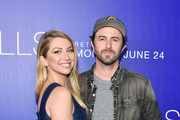 """Beau Clark and Stassi Schroeder attend the premiere of MTV's """"The Hills: New Beginnings"""" at Liaison on June 19, 2019 in Los Angeles, California."""