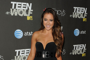"""Chloe Wand Premiere Of MTV's """"Teen Wolf"""" - Red Carpet"""