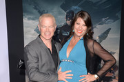 Actor Neal McDonough (L) and wife Ruve arrive for the premiere of Marvel's 'Captain America: The Winter Soldier'  at the El Capitan Theatre on March 13, 2014 in Hollywood, California.
