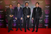 Kevin Pollak, Daniel Palladino, Tony Shalhoub and Michael Zegen attend Premiere The Marvelous Mrs. Maisel S2 - Milan event at Cinema Odeon on December 3, 2018 in Milan, Italy