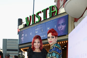 TV personalities Farrah Abraham and Sham Ibrahim attend the Los Angeles premiere of Neon's 'Gemini' at the Vista Theatre on March 15, 2018 in Los Angeles, California.