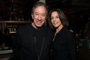 """Tim Allen and Jane Hajduk attend the after party for the premiere of Netflix's """"Queer Eye"""" Season 1 at the Pacific Design Center on February 7, 2018 in West Hollywood, California."""