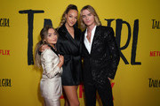 (L-R) Actors Sabrina Carpenter, Ava Michelle and Luke Eisner attend the premiere of Netflix's 'Tall Girl' at Netflix Home Theater on September 09, 2019 in Los Angeles, California.