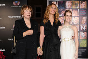 """(L-R) Actresses Shirley MacLaine, Julia Roberts, and Emma Roberts arrive at the premiere of New Line Cinema's """"Valentine's Day"""" held at Grauman's Chinese Theatre on February 8, 2010 in Los Angeles, California."""