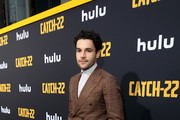 "Christopher Abbott attends the premiere of Hulu's ""Catch-22"" on May 07, 2019 in Hollywood, California."