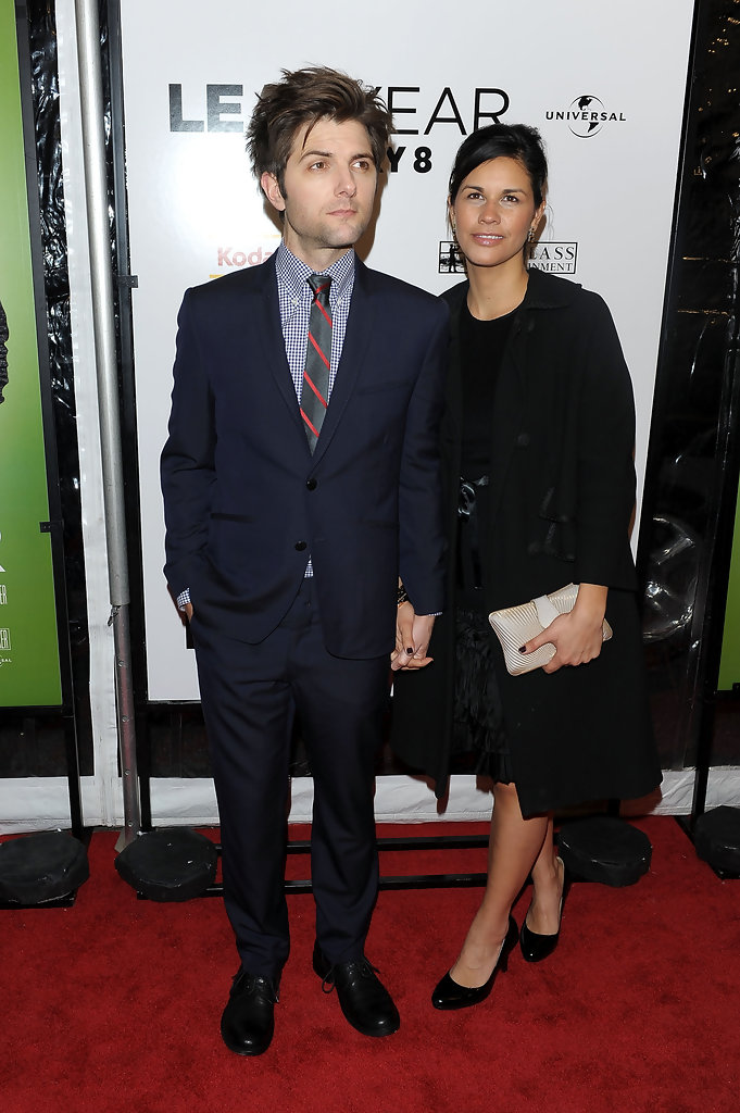 Adam Scott and Naomi Sablan Photos Photos - Premiere Of ...