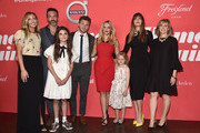 """Writer/director Hallie Meyers-Shyer, actors Reid Scott, Lola Flanery, Jon Rudnitsky, Reese Witherspoon, Eden Grace Redfield, Lake Bell and producer Nancy Meyers attend the premiere of Open Road Films' """"Home Again"""" at the Directors Guild of America on August 29, 2017 in Los Angeles, California."""