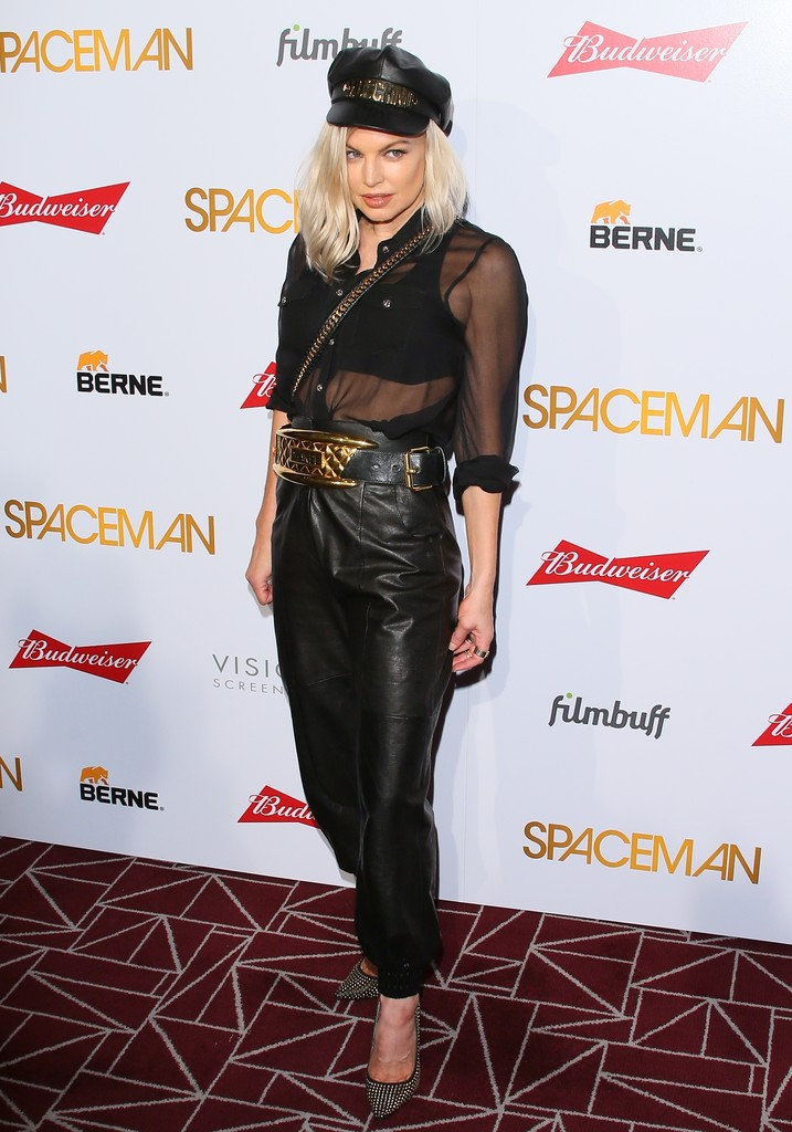 Fergie attends the 'Spaceman' Premiere in West Hollywood 08/07/2016