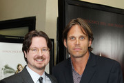 """Director Matt Reeves and Chris Browning arrives at The Premiere Of Overture Films' """"Let Me In"""" held at The Bruin Theater on September 27, 2010 in Los Angeles, California."""
