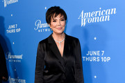 """Kris Jenner attends Premiere Of Paramount Network's """"American Woman"""" - Arrivals at Chateau Marmont on May 31, 2018 in Los Angeles, California."""