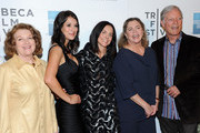 """(L-R) Rebecca Wackler, Angelique Cabral, Anne Renton, Kathleen Turner and Richard Chamberlain attend the premiere of """"The Perfect Family"""" at the 2011 Tribeca Film Festival at BMCC Tribeca PAC on April 24, 2011 in New York City."""
