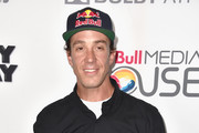 "Freestyle motocross sportsman Robbie Maddison arrives at the Premiere Of Red Bull Media House's ""On Any Sunday, The Next Chapter"" at Dolby Theatre on October 22, 2014 in Hollywood, California."