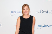 Actress Schuyler Fisk attends the premiere of Relativity Studios' 'The Best Of Me' at Regal Cinemas L.A. Live on October 7, 2014 in Los Angeles, California.