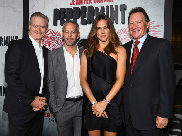 "Premiere Of STX Entertainment's ""Peppermint"" - Red Carpet"