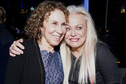 """(L-R) Rhea Pearlman and Jacki Weaver attend STX's """"Poms"""" premiere after party on May 01, 2019 in Los Angeles, California."""