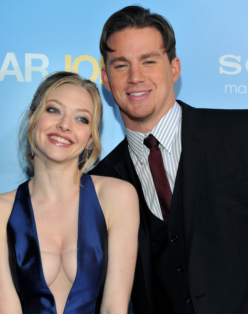 channing tatum and amanda seyfried photos photos - premiere of