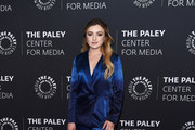 """Peyton List attends the premiere screening and conversation of YouTube Original's """"Cobra Kai"""" Season 2 at The Paley Center for Media on April 22, 2019 in Beverly Hills, California."""