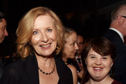 Actresses Frances Conroy (L) and Jamie Brewer pose at the after party for the premiere screening of FX's 'American Horror Story: Freak Show' at the Roosevelt Hotel on October 5, 2014 in Los Angeles, California.