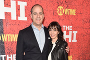 """Showtime CEO, David Nevins and Andrea Blaugrund Nevins attend the premiere of Showtime's """"The Chi"""" at The Downtown Independent on January 3, 2018 in Los Angeles, California."""