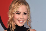 "Tara Lipinski attends the premiere of Showtime's ""Kidding"" at The Cinerama Dome on September 5, 2018 in Los Angeles, California."