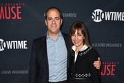 """President of Showtime Networks, David Nevins and Andrea Blaugrund Nevins attend the premiere of Showtime's """"Kobe Bryant's Muse"""" at The London Hotel on February 26, 2015 in West Hollywood, California."""