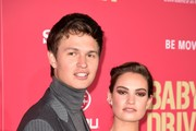 Ansel Elgort and Lily James Photos Photo