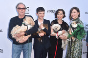 "Actors Peter Fonda, Kristen Schaal, Lewis MacDougall and Vera Farmiga attend the premiere of Sony Pictures Classics' ""Boundries"" at American Cinematheque's Egyptian Theatre on June 19, 2018 in Hollywood, California."