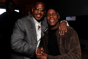 """Actor Martin Lawrence and actor Danny Glover attend the after party for the Los Angeles premiere of Screen Gems' """"Death at a Funeral on April 12, 2010 in Los Angeles, California."""