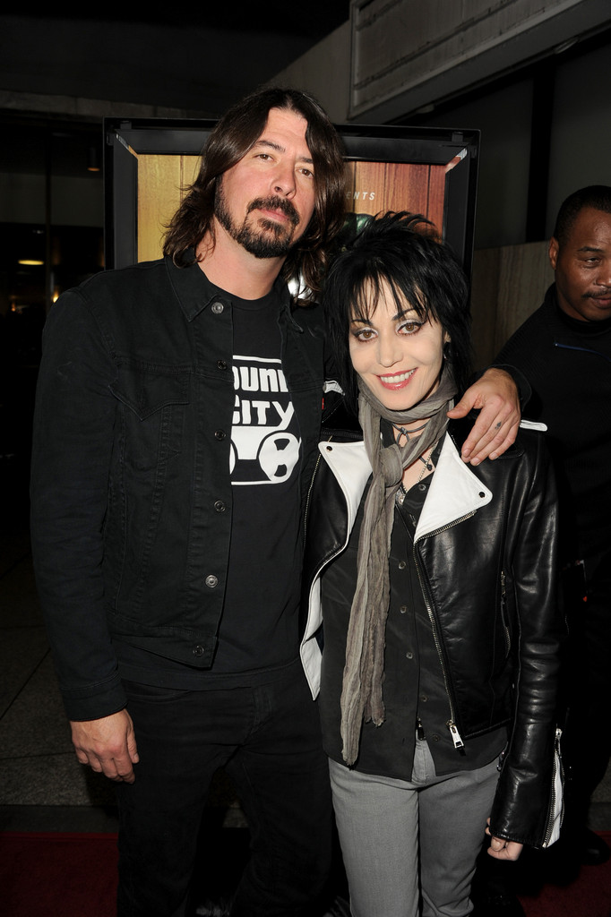 Joan Jett And Dave Grohl Photos Photos Premiere Of