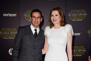 Geena Davis & Reza Jarrahy - Celebrity Women Who Have Dated Much Younger Men