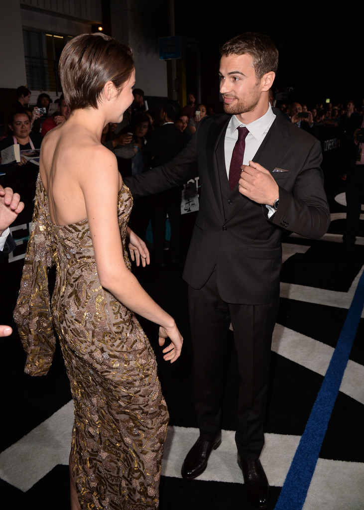 Well Played: Shailene Woodley, Theo James, and Kate ...  Shailene Woodley And Theo James Divergent Premiere