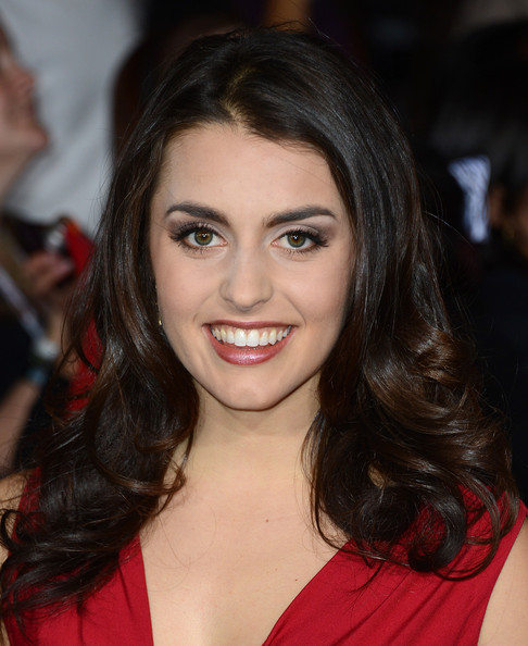 """Actress Kathryn McCormick arrives at the premiere of Summit Entertainment's """"The Twilight Saga: Breaking Dawn Part 2"""" at Nokia Theatre L.A. Live on November 12, 2012 in Los Angeles, California."""