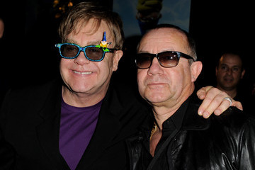 """Elton John Bernie Taupin Premiere Of Touchstone Pictures' """"Gnomeo And Juliet"""" - After Party"""